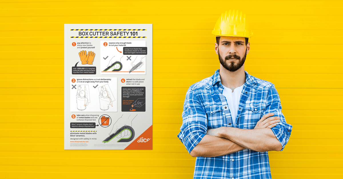 Box Cutter Safety Poster